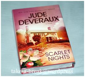 """""""scarlet nights"""" by jude deveraux"""