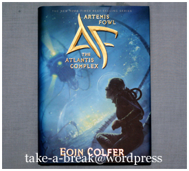 """the atlantis complex"" by eoin colfer"