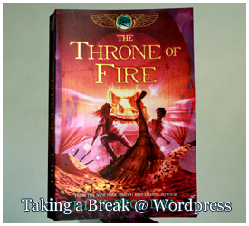 """The Throne of Fire"" by Rick Riordan"